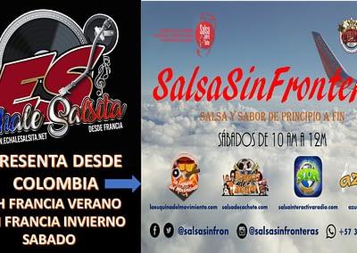 SALSA SIN FRONTERAS SABADO